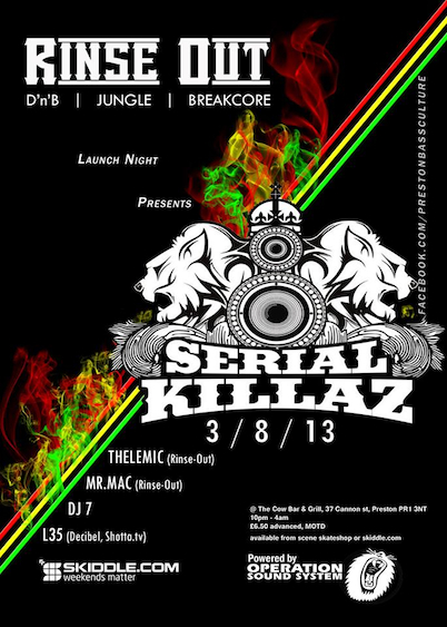 serial killaz flyer